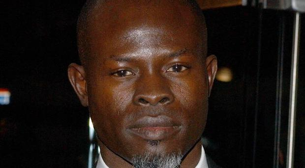Djimon Hounsou has said animated films can be tough physical work