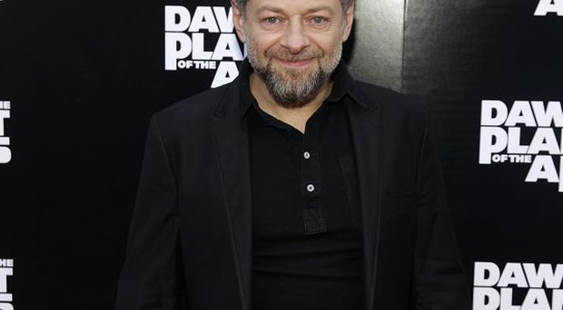 Andy Serkis stars in Dawn Of The Planet Of The Apes