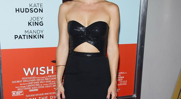 Kate Hudson showed off her stunning figure at the premiere of her new film Wish I Was Here