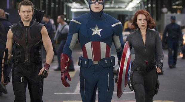 Chris Evans, Scarlett Johansson and Jeremy Renner will reprise their superhero roles in the Avengers sequel