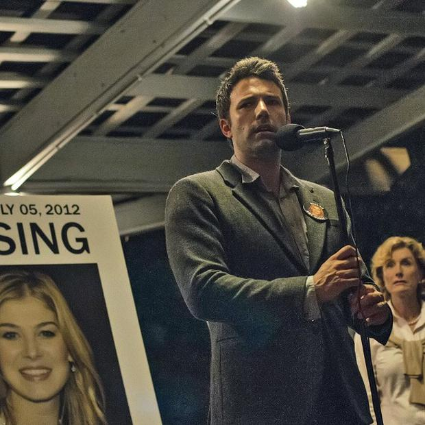 Ben Affleck and Rosamund Pike star in Gone Girl