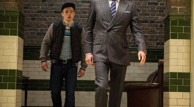 Colin Firth and newcomer Taron Egerton star in Kingsman: The Secret Service