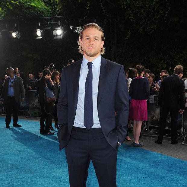 Charlie Hunnam was originally cast as Christian Grey