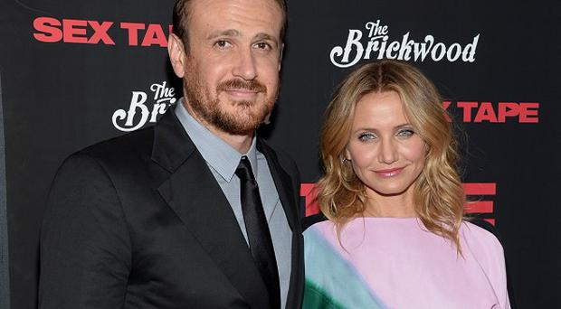 Jason Segel and Cameron Diaz star in Sex Tape, which has proved a bit of a turn off at the box office