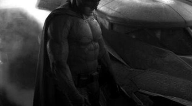 Ben Affleck is apparently finding his Batsuit difficult to work in (Zack Snyder/Twitter)