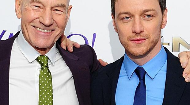 Sir Patrick Stewart and James McAvoy have both played Professor Charles Xavier in the X-Men films