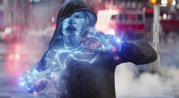 Jamie Foxx played Electro in The Amazing Spider-Man 2