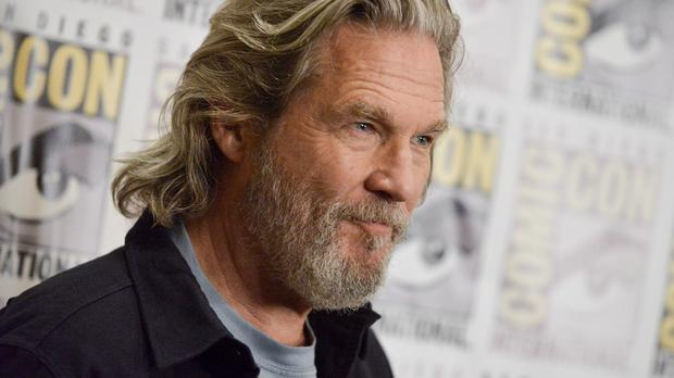 Jeff Bridges attended The Giver press line at Comic-Con International in San Diego