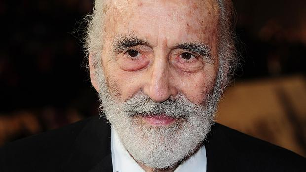 Sir Christopher Lee played Saruman the White in the Lord Of The Rings films