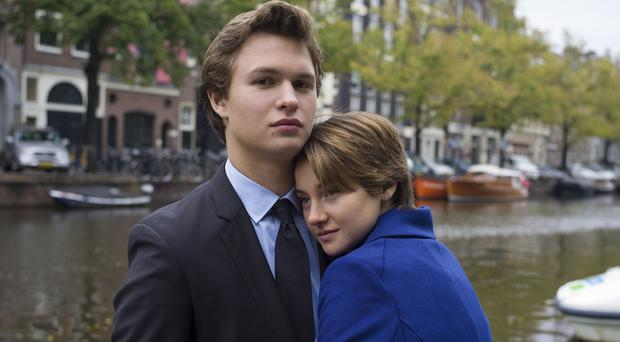 Shailene Woodley and Ansel Elgort play teenage cancer patients in The Fault In Our Stars