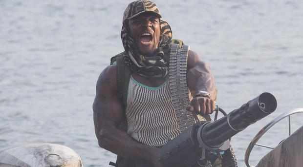 Terry Crews plays barrel weapons specialist Hale Caesar in The Expendables 3