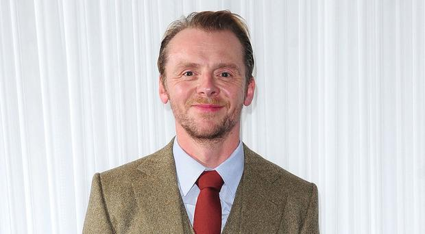 Simon Pegg says he is still a film fan at heart