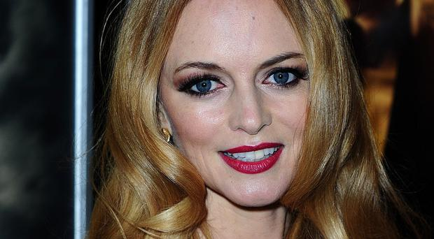 Heather Graham was due to star in Neil LaBute's New York play The Money Shot