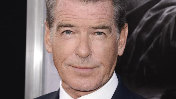 Pierce Brosnan who was 2001 Sexiest Man Alive