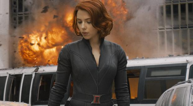 Scarlett Johansson plays the Black Widow in Marvel films