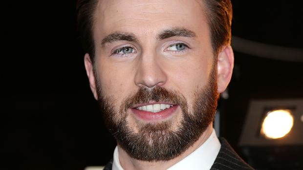 Chris Evans plays Steve Rogers/Captain America in the Marvel films