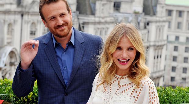 Cameron Diaz and Jason Segel star together in Sex Tape