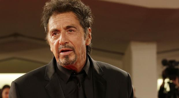 Al Pacino was in Venice to promote The Humbling and Manglehorn