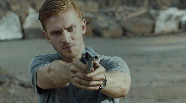 Dan Stevens plays a US soldier in The Guest