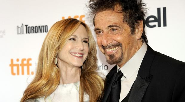 Holly Hunter and Al Pacino star together in Manglehorn