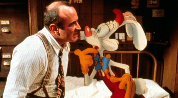 Bob Hoskins starred in Who Framed Roger Rabbit with Charles Fleischer as the voice of Roger (Rex)