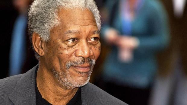 Morgan Freeman is less than impressed by news outlets choosing to focus on the civil unrest over the death of 25-year-old African American Freddie Gray