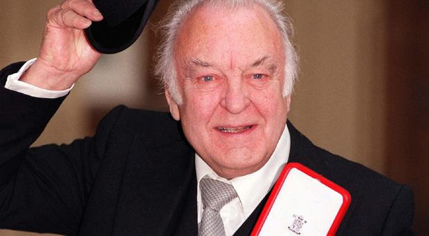Sir Donald Sinden has died at his home at the age of 90