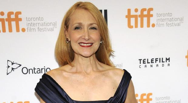 Patricia Clarkson was left exhausted by her new thriller October Gale