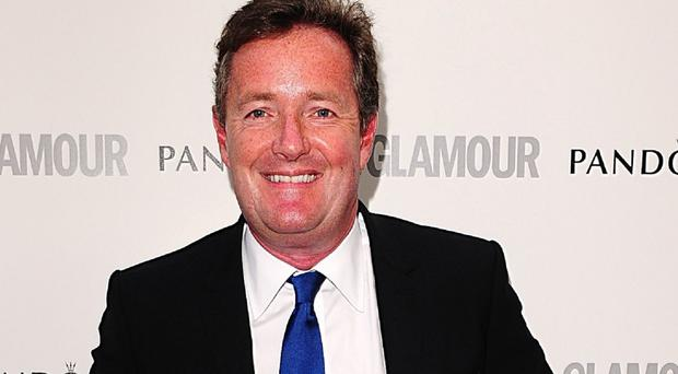 Piers Morgan has said people think he looks like Colin Firth