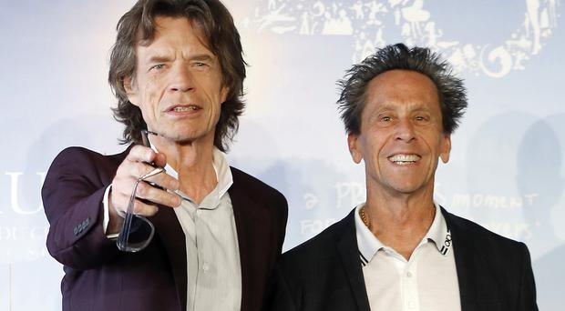 Brian Grazer was joined by Sir Mick Jagger at the festival