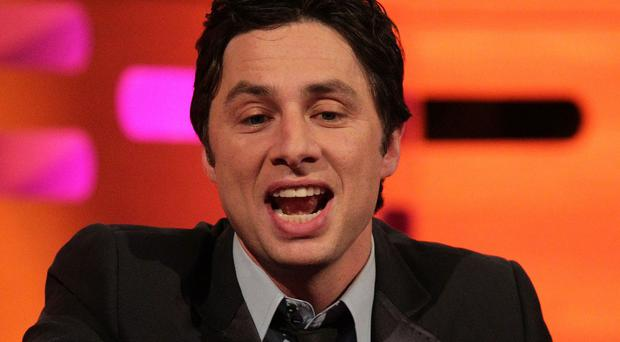 Zach Braff co-wrote, directed and starred in Wish I Was Here