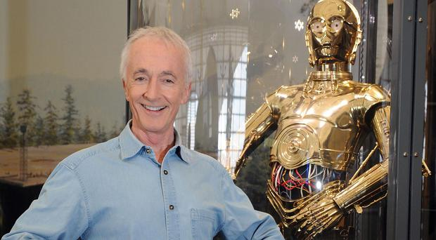 Anthony Daniels says he'll be back in C3PO's gold suit for Star Wars: Episode VII