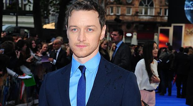 James McAvoy will be on the jury at the London Film Festival