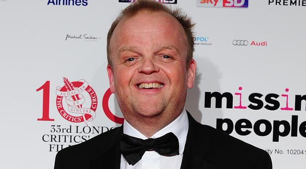 Toby Jones will voice Wilkins in the Alice In Wonderland sequel