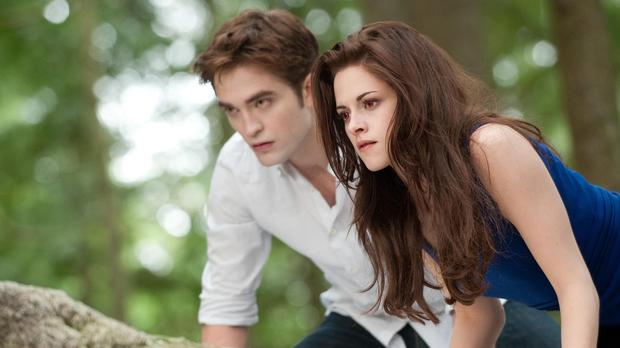 Kristen Stewart and Robert Pattinson starred in the Twilight Saga (Entertainment One UK)