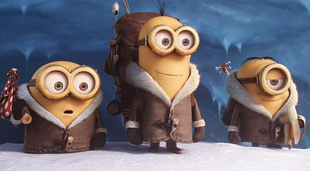 The Minions have to find a new evil master in their spin-off prequel
