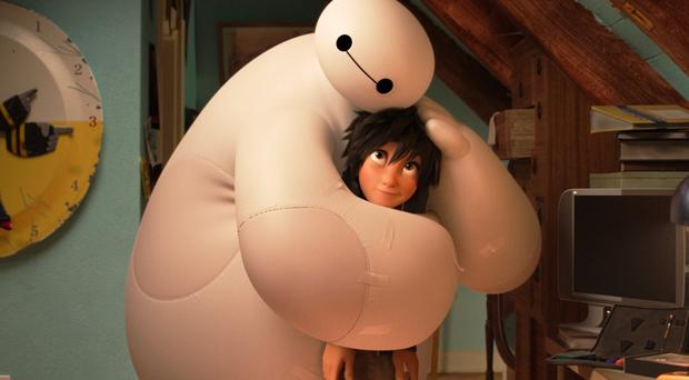Big Hero 6 has hit the top spot at the US box office over the weekend