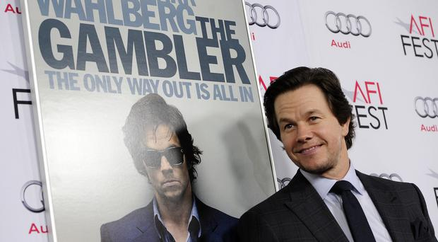 Mark Wahlberg at the premiere of The Gambler at AFI Fest in Los Angeles (AP)