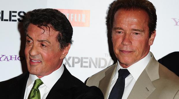 Sylvester Stallone and Arnold Schwarzenegger are now good friends
