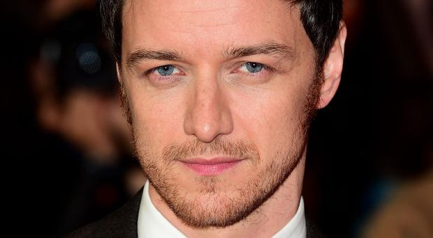 James McAvoy was the first ever winner of the EE Rising Star Award in 2006