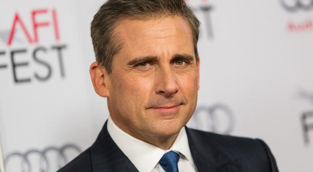 Steve Carell portrays John du Pont in Foxcatcher