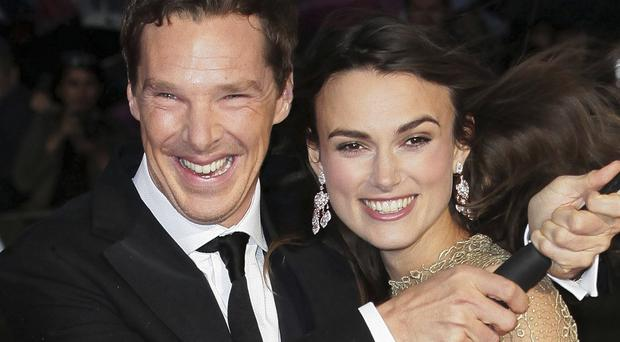 Benedict Cumberbatch and Keira Knightley co-star in The Imitation Game
