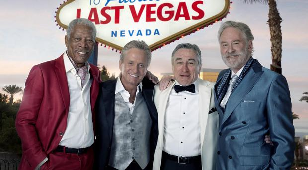 Morgan Freeman, Michael Douglas, Robert De Niro and Kevin Kline star in Last Vegas
