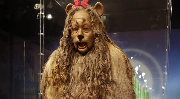 Bert Lahr's Cowardly Lion costume has been sold