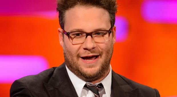 Seth Rogen stars in The Interview with James Franco