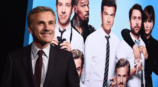 Christoph Waltz stars in Horrible Bosses 2 alongside Jason Bateman, Charlie Day and Jason Sudeikis
