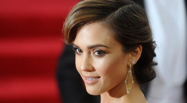 Jessica Alba is apparently doing a military training plan to keep in shape