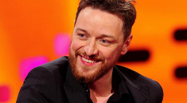 James McAvoy says US audiences can struggle to understand working class Brits