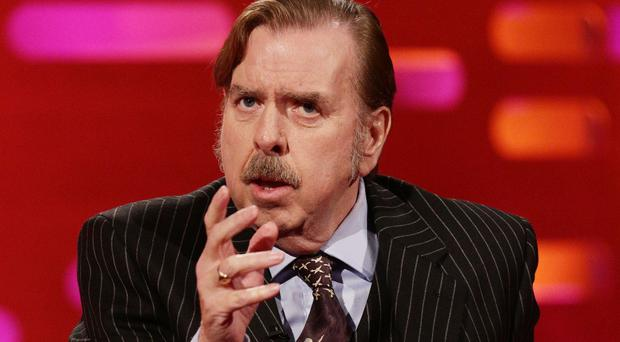 Timothy Spall voices a bloodhound in Alice In Wonderland: Through The Looking Glass