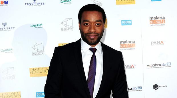 Chiwetel Ejiofor was the star of 12 Years A Slave